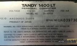 골동품 Tandy 1400LT PC 가 돌아간다 by GoldBuG
